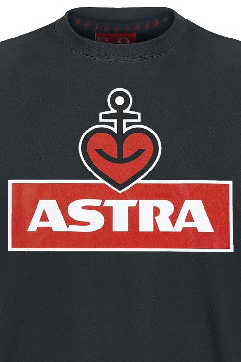 Image of Astra Herzanker T-Shirt schwarz