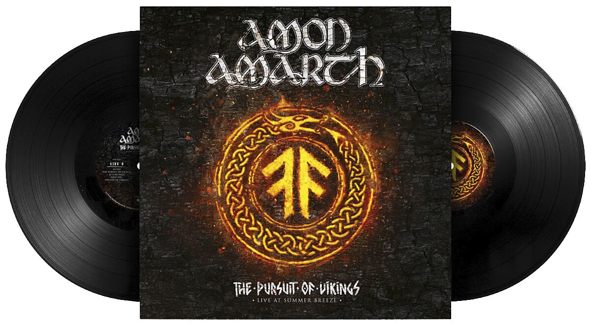Image of Amon Amarth The pursuit of vikings: 25 years in the eye of the storm 2-LP Standard