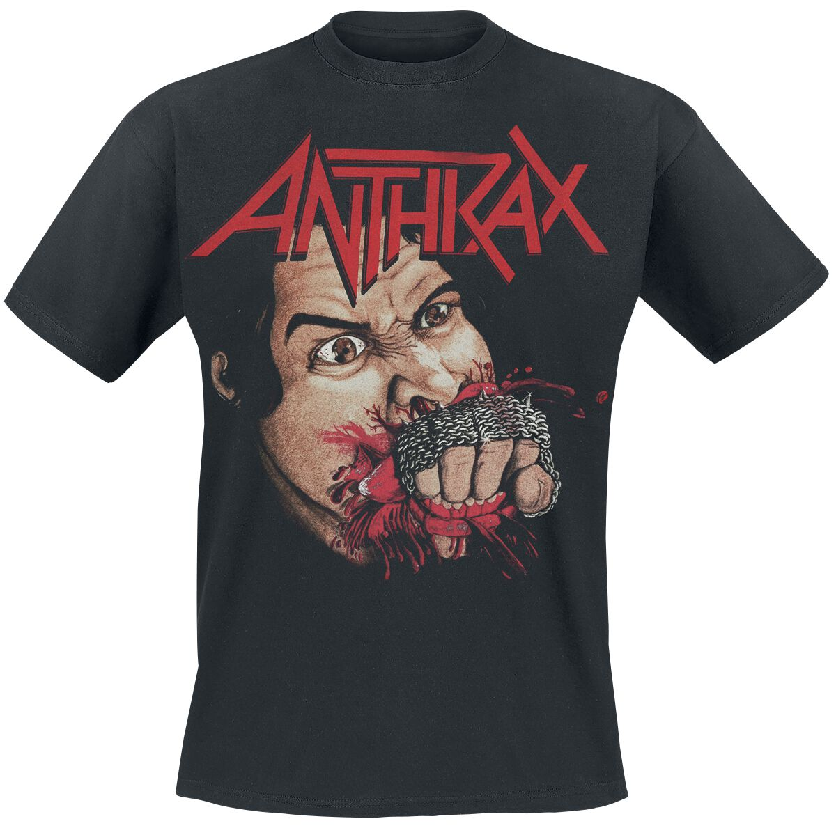 Image of Anthrax Fistful T-Shirt schwarz