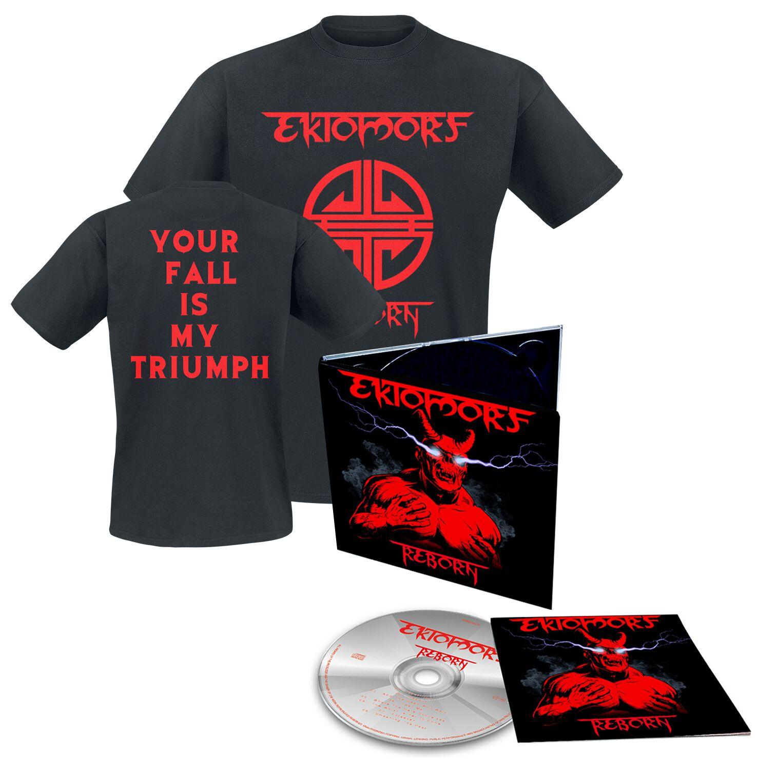 Image of Ektomorf Reborn CD & T-Shirt Standard