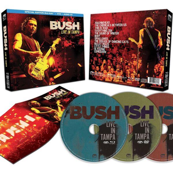Image of Bush Live in Tampa Blu-ray & DVD & CD Standard