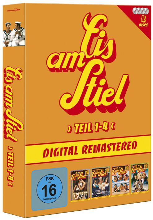 Image of Eis am Stiel Teil 1 - 4 4-DVD Standard