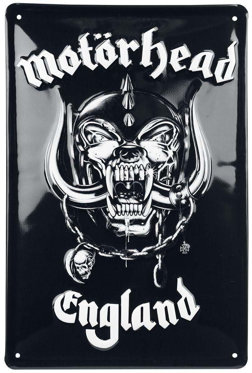 Image of Motörhead England Blechschild Standard