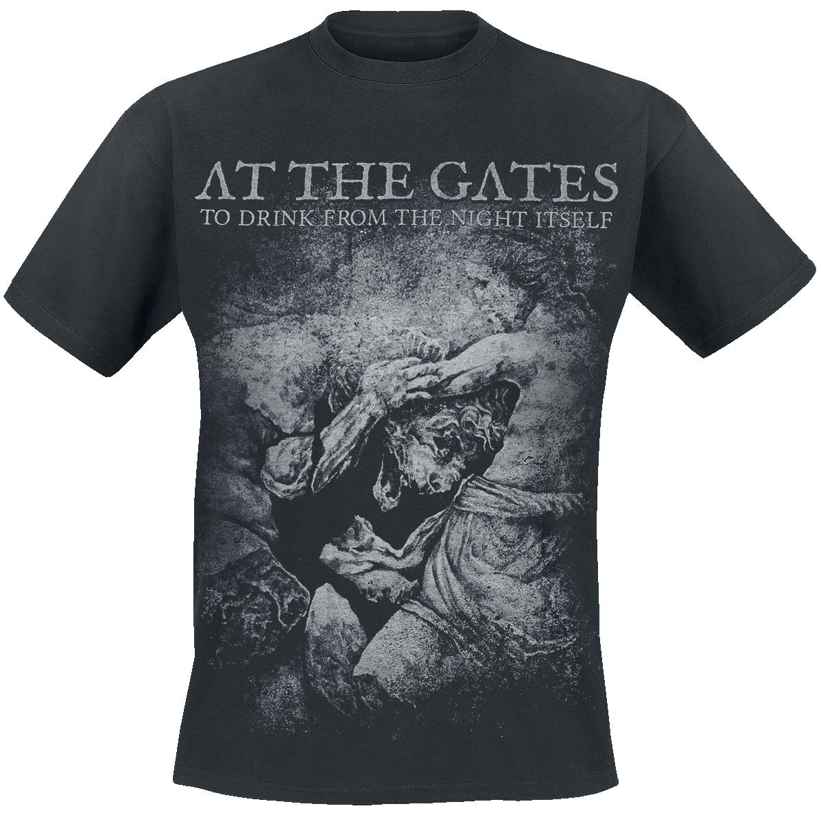 At The Gates - Lion - T-Shirt - black image