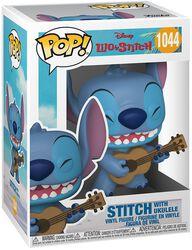 Stitch with Ukulele Vinyl Figur 1044