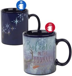 Believe In The Journey - Tasse mit Thermoeffekt
