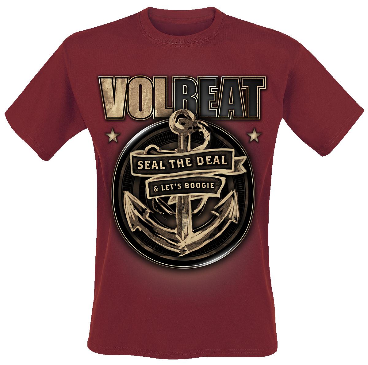 Volbeat - Anchor - T-Shirt - dark red image