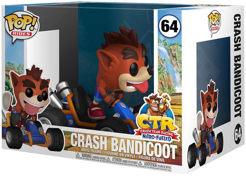Crash Bandicoot POP Rides Vinyl Figure 64
