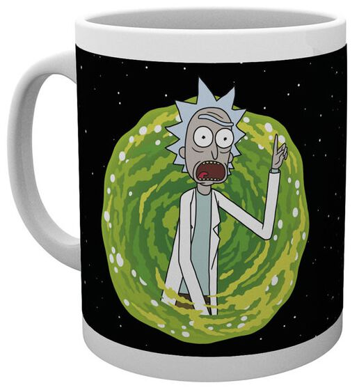 Rick And Morty Your Opinion Tasse weiß MG2502