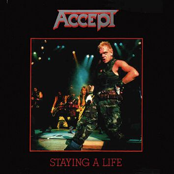 Image of Accept Staying a life 2-CD Standard