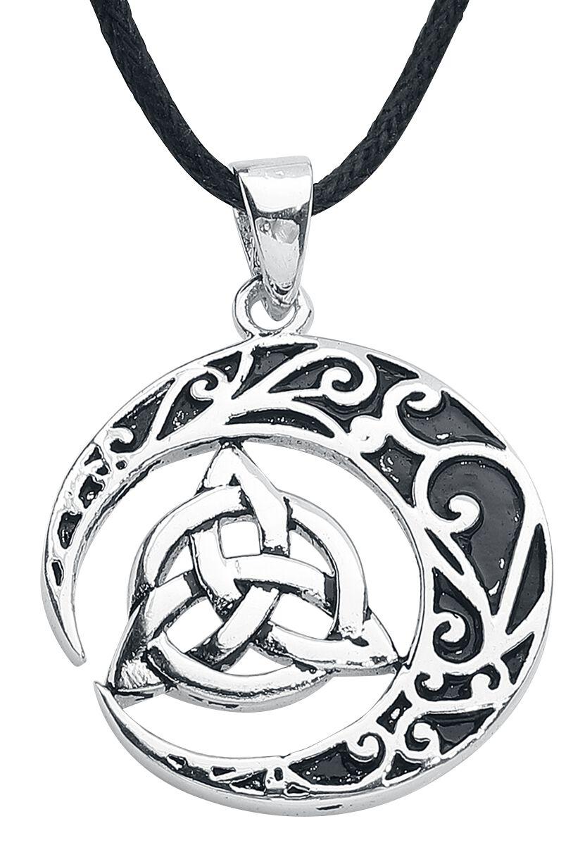 etNox magic and mystic Keltischer Knoten Halskette silberfarben BK465