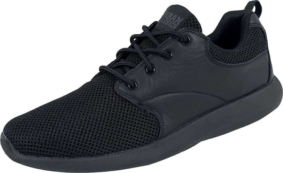 Sneakers für Frauen - Urban Classics Light Runner Sneaker schwarz  - Onlineshop EMP