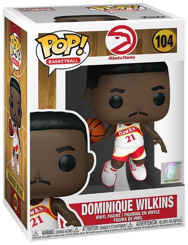 Atlanta Hawks - Dominique Wilkins (Home Jersey) Vinyl Figur 104