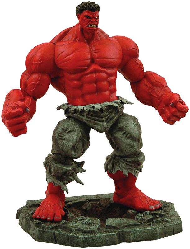 Marvel Select Actionfigur Red Hulk