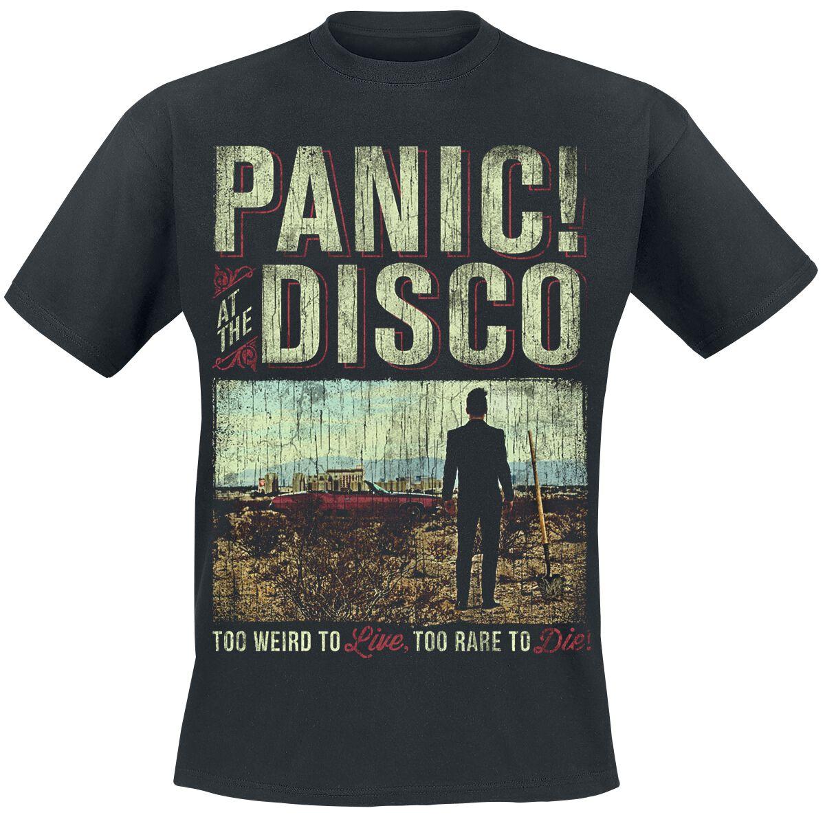 Billboard Panic At The Disco T Shirt Emp
