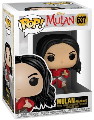 Mulan (Warrior) Vinyl Figur 637