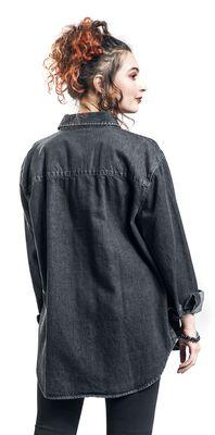 Ladies Denim Oversized Shirt
