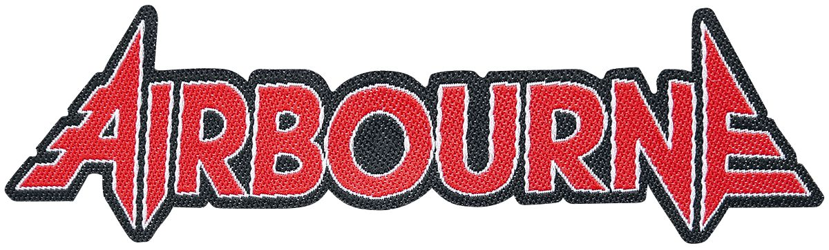 Image of Airbourne Logo Cut-Out Patch multicolor