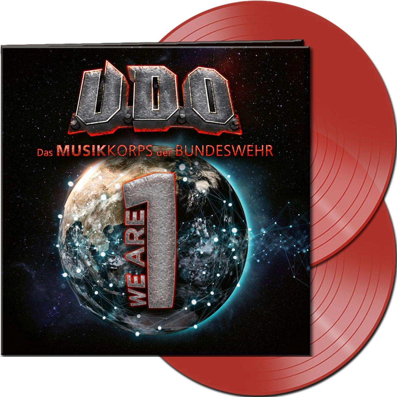 U.D.O. We are one - U.D.O. & Das Musikkorps der Bundeswehr LP rot AFM74311