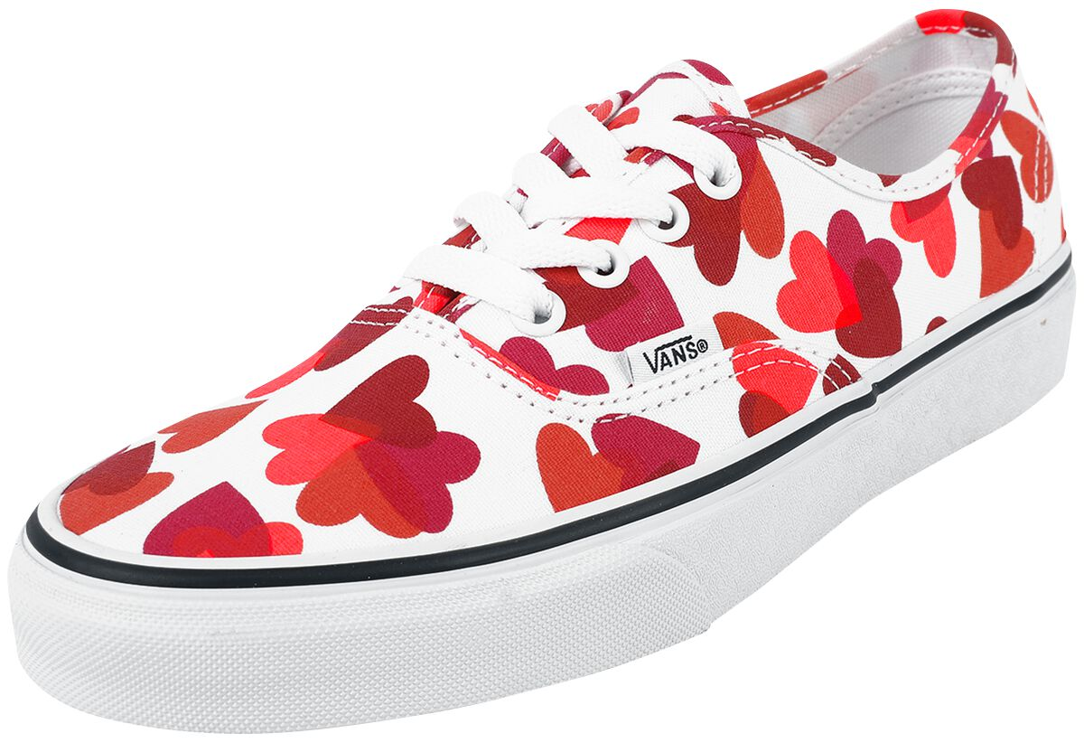 Vans Authentic Valentines Hearts  Sneaker  weiß
