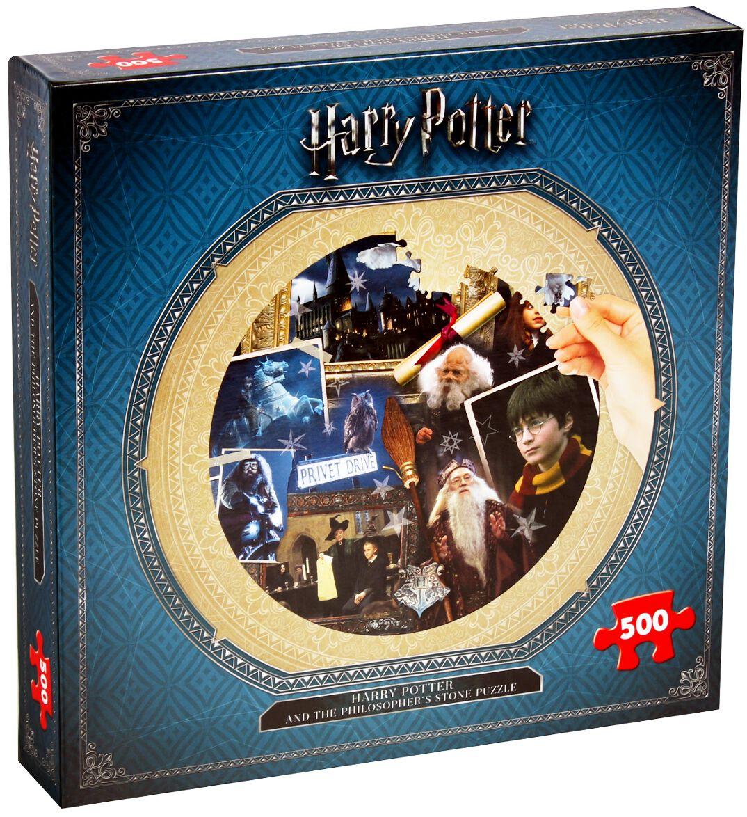 Harry Potter Philosophers Stone (500 Teile) Puzzle multicolor 002480