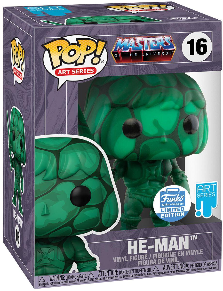 Masters Of The Universe He-Man (Inkl. Protector Box) (Funko Shop Europe) Vinyl Figur 16  Funko Pop!  Standard