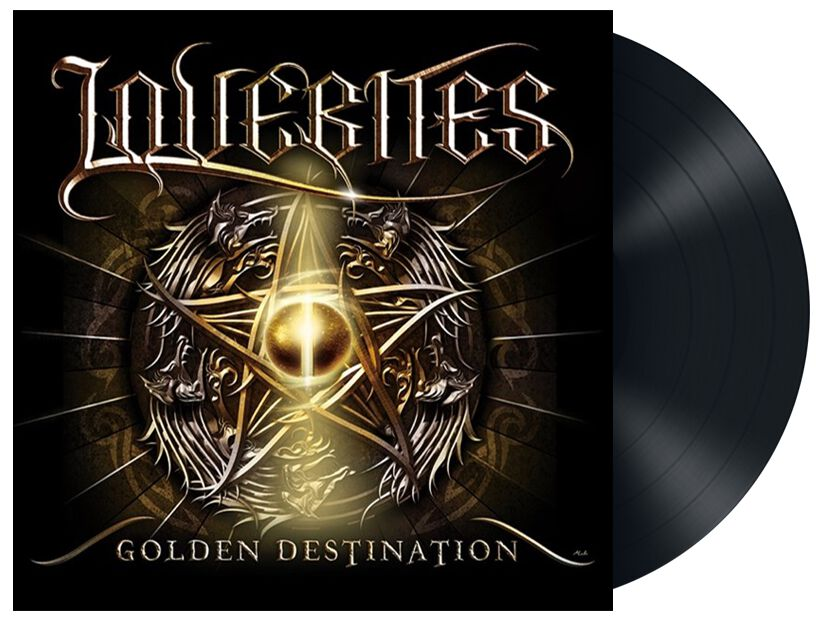 Image of Lovebites Golden destination 12 inch-MAXI Standard