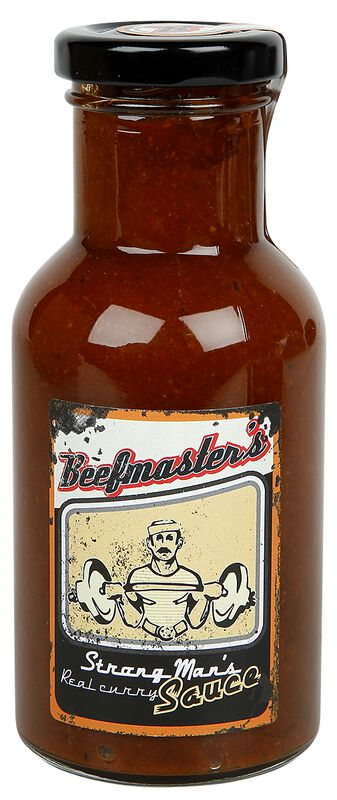 Beefmasters Strong Man's BBQ Sauce