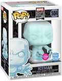 80th - Iceman (Flocked) (Funko Shop Europe) Vinyl Figur 504