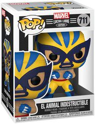 El Animal Indestructible - Marvel Luchadores - Vinyl Figur 711