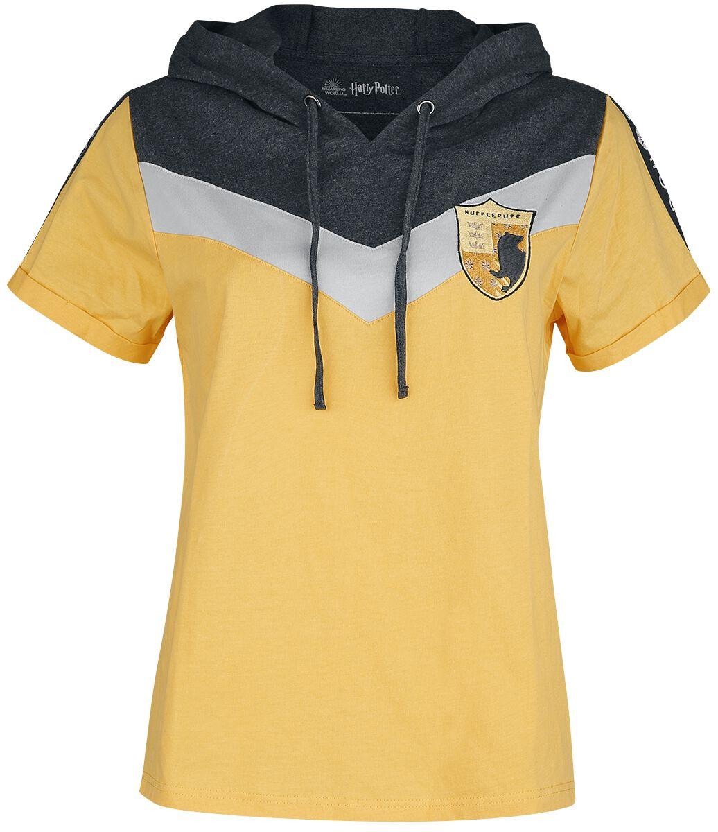 Harry Potter Hufflepuff T-Shirt gelb M430014