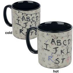 Alphabet - Tasse mit Thermoeffekt