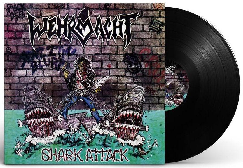 Wehrmacht Shark attack LP multicolor HHR202101LP