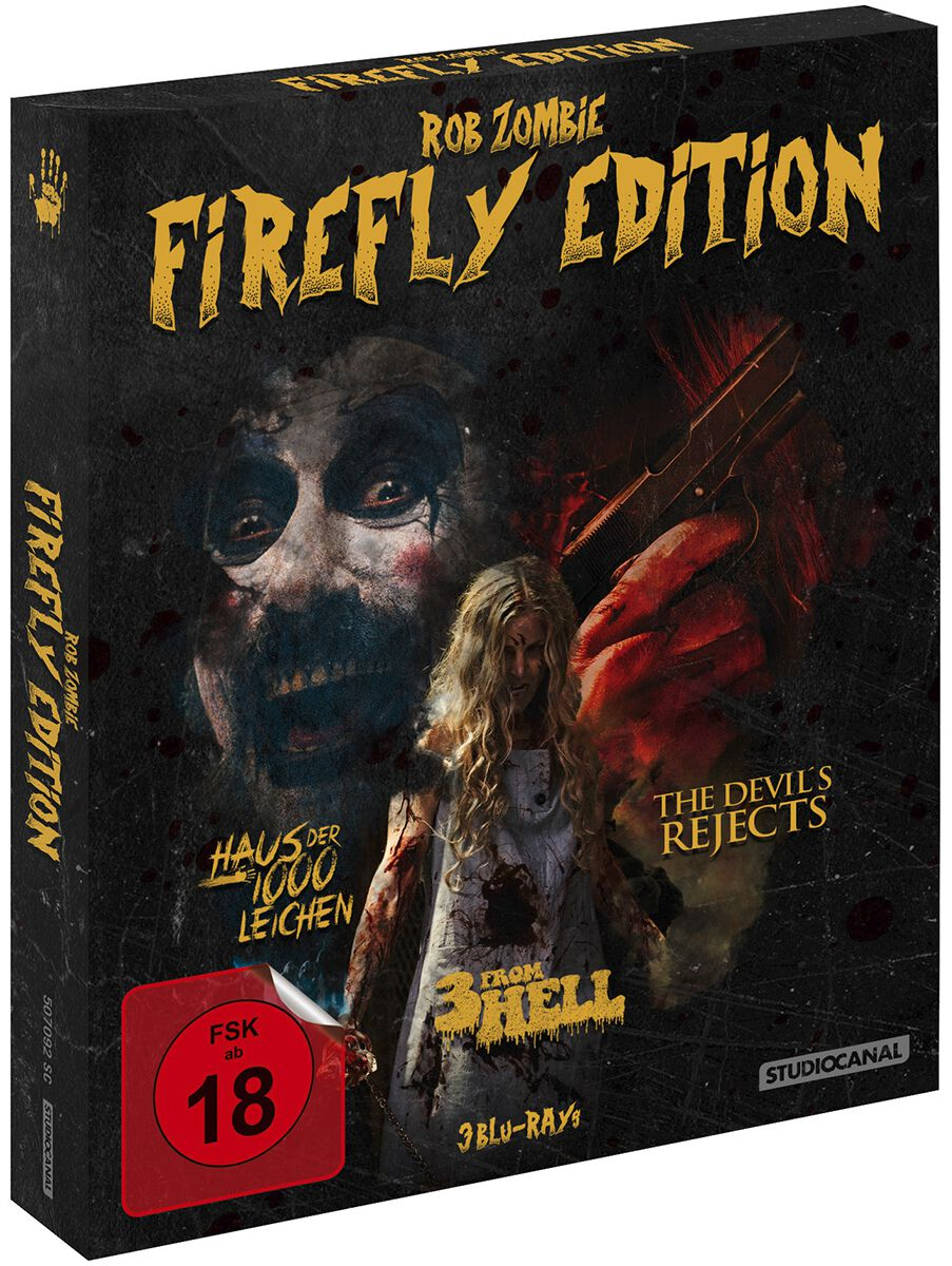 Rob Zombie Firefly Edition  Blu-Ray  Standard