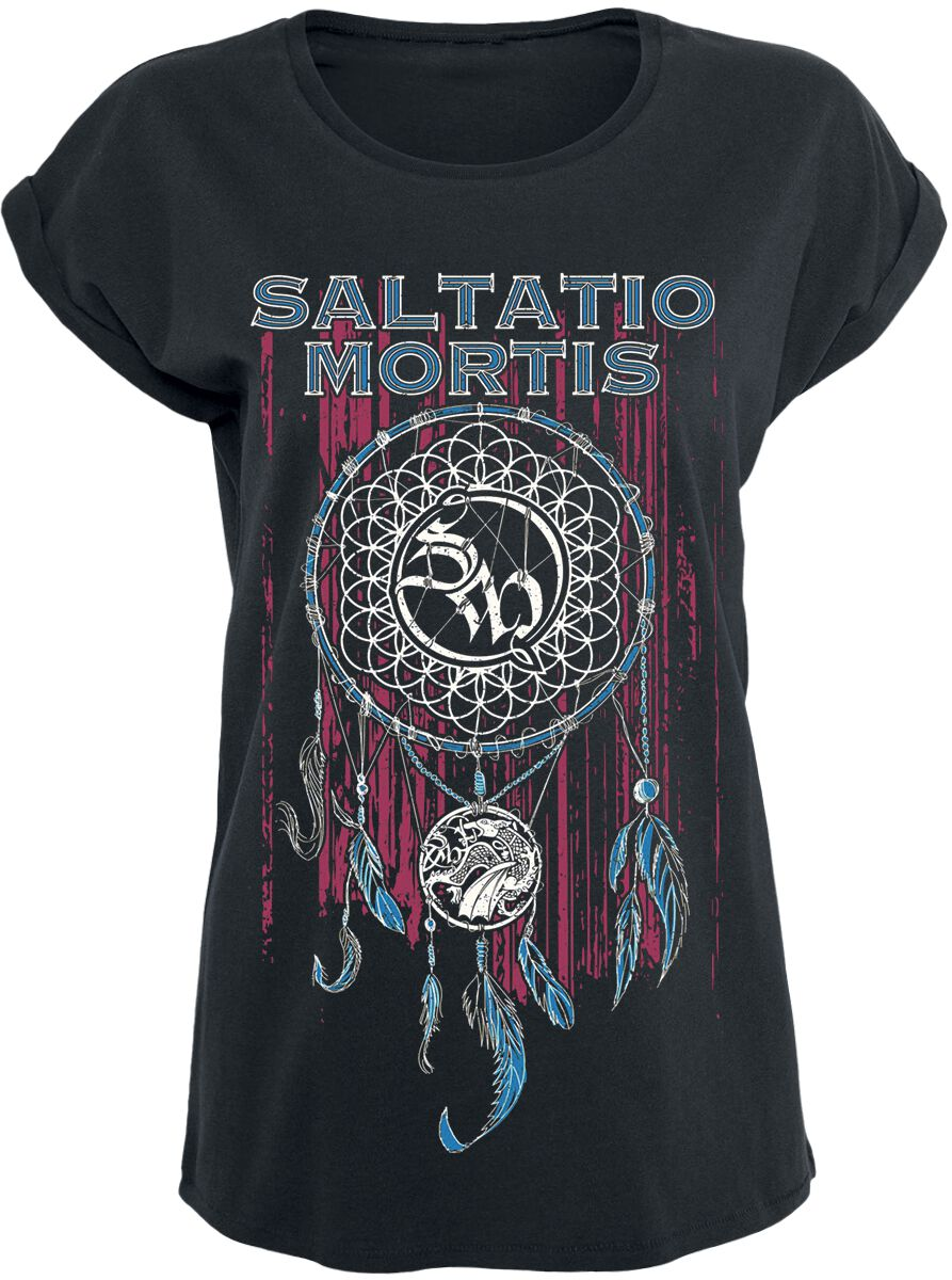 Saltatio Mortis Dreamcatcher T-Shirt schwarz 130559001