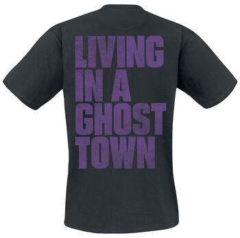 Ghost Town Distressed Logo