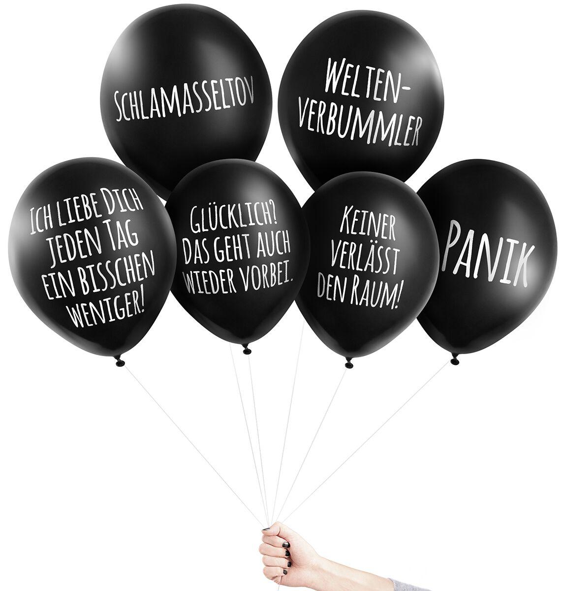 Image of Pechkeks Anti-Ballons - Universal-Set II Aufblasbares schwarz