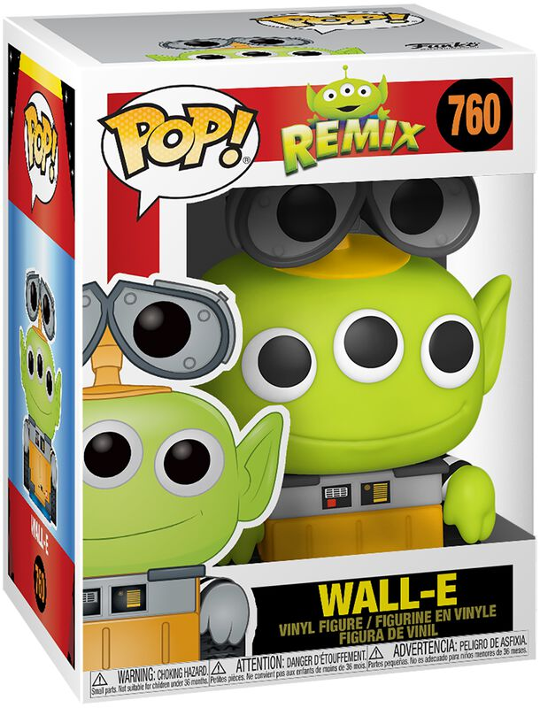 Alien Remix - Wall-E Vinyl Figur 760