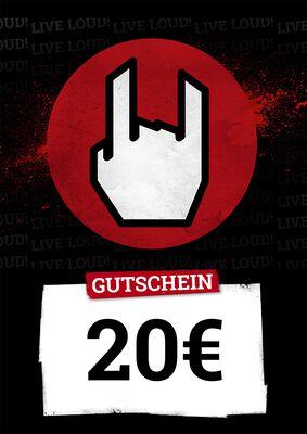 Kauf- und Wertgutschein 20,00 EUR