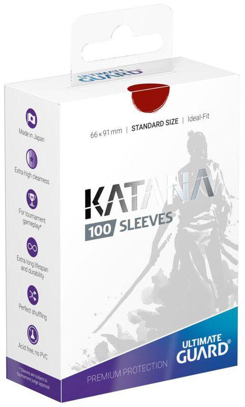 Katana Sleeves - Rot