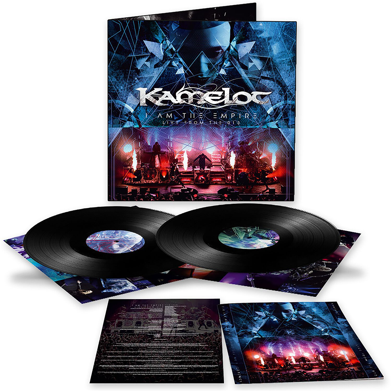 Image of Kamelot I am the empire - Live from the 013 2-LP & DVD Standard