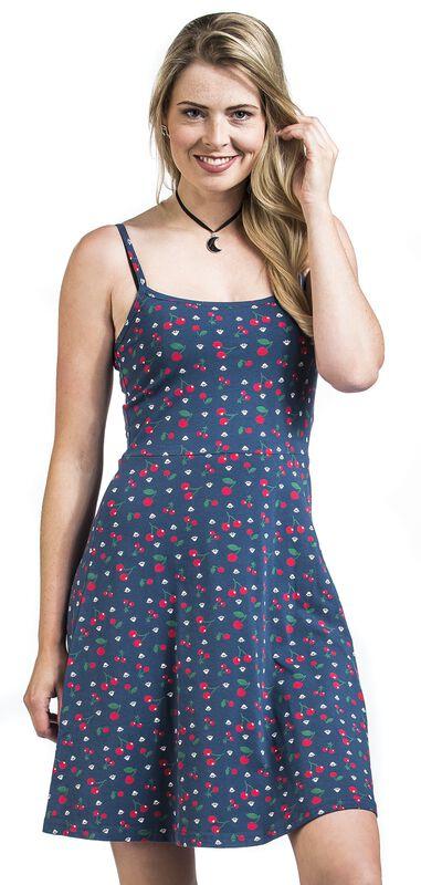 Cat Paws & Cherries Dress
