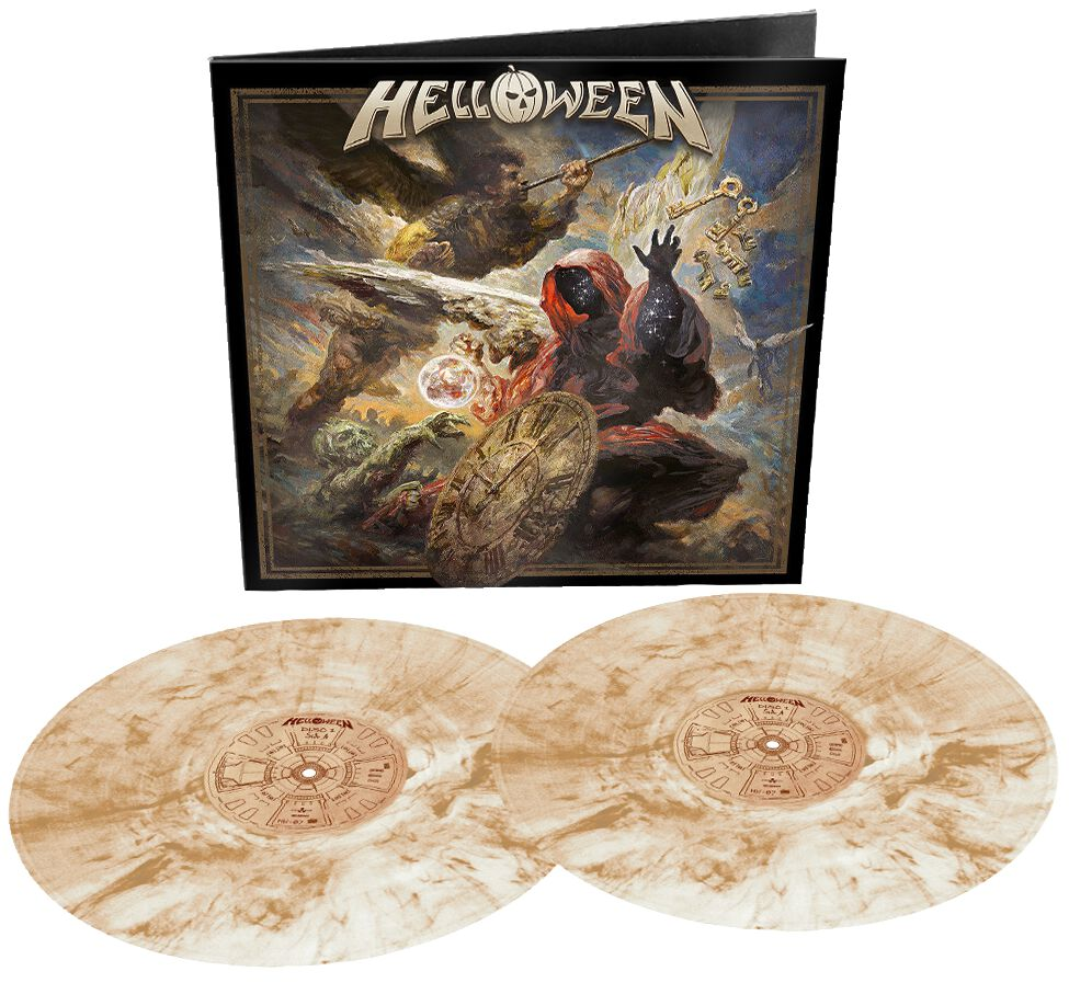 Helloween Helloween LP marmoriert NBT 4858-7