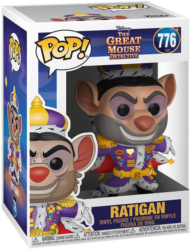 Basil, der grosse Mäusedetektiv Ratigan Vinyl Figur 776