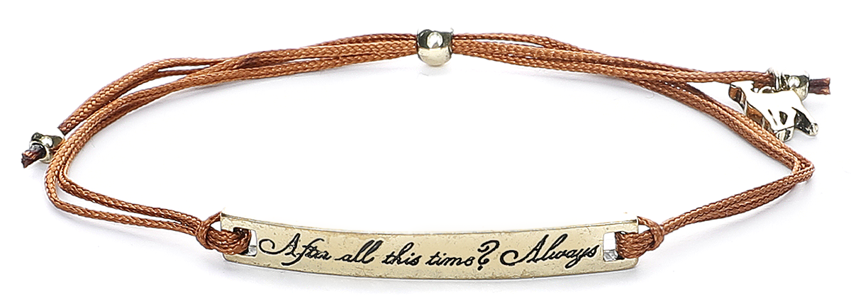 Image of Harry Potter After all this Time Armband-Set multicolor