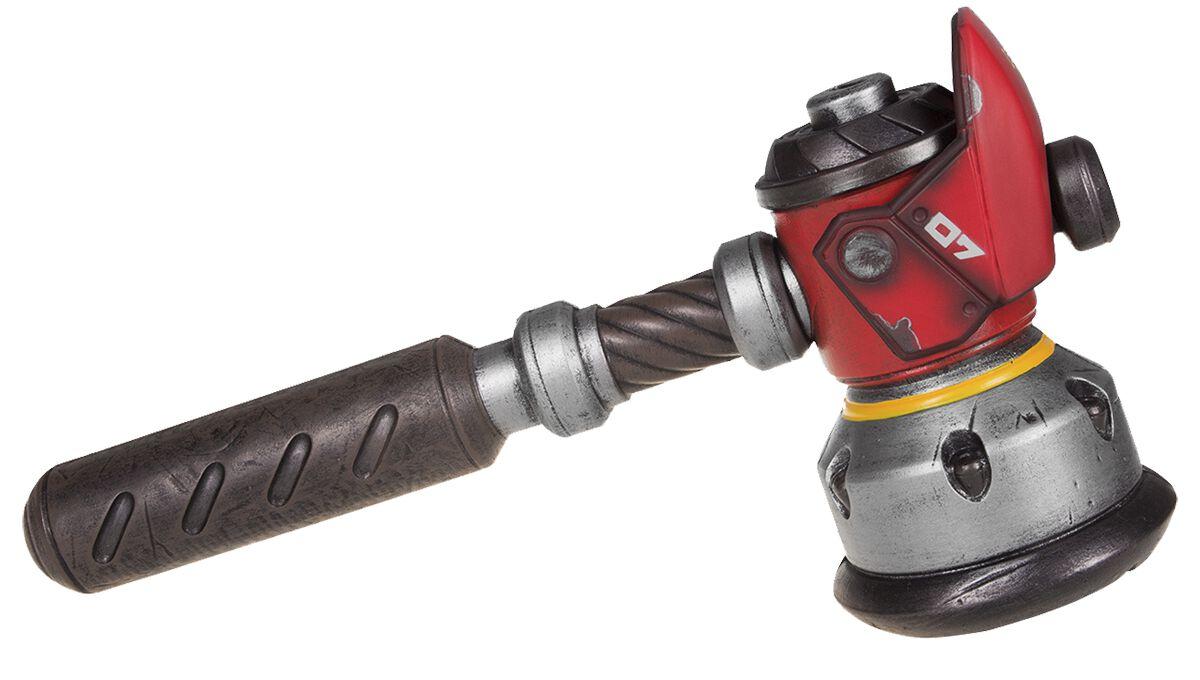 Image of Overwatch Torbjörns Hammer LARP Replik Deko-Waffe Standard