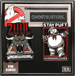 Zuul and Marshmallow Man
