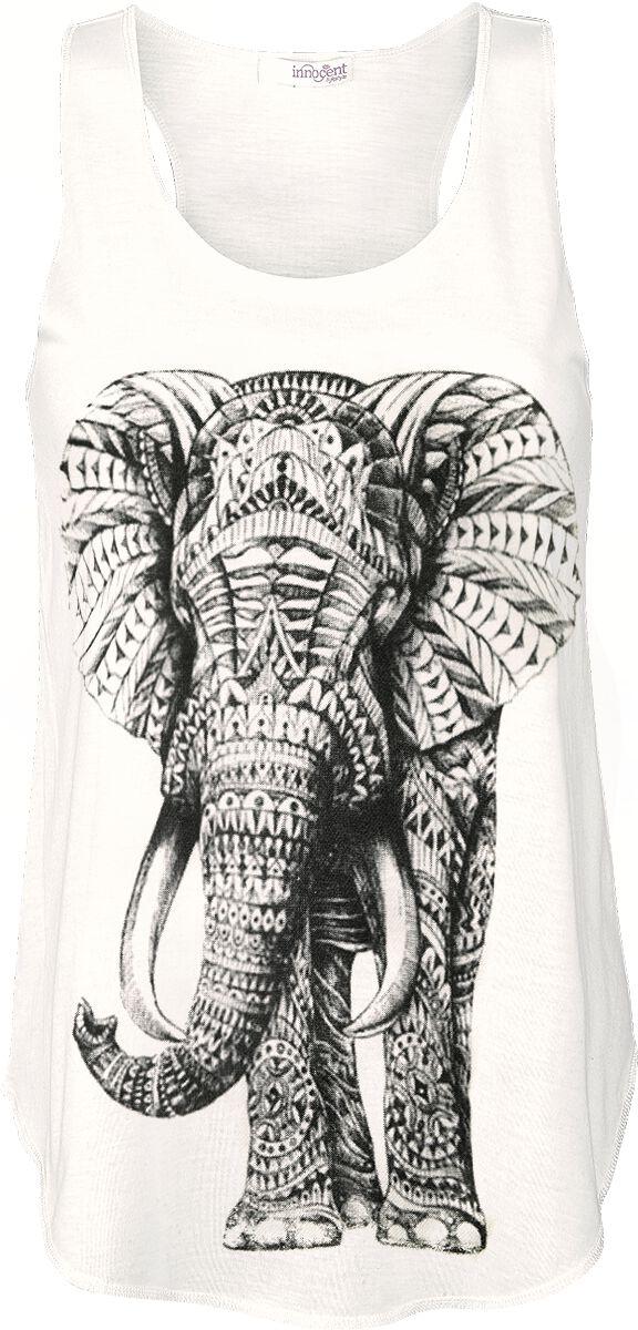 Innocent Mammoth Top altweiß Mammoth Vest white