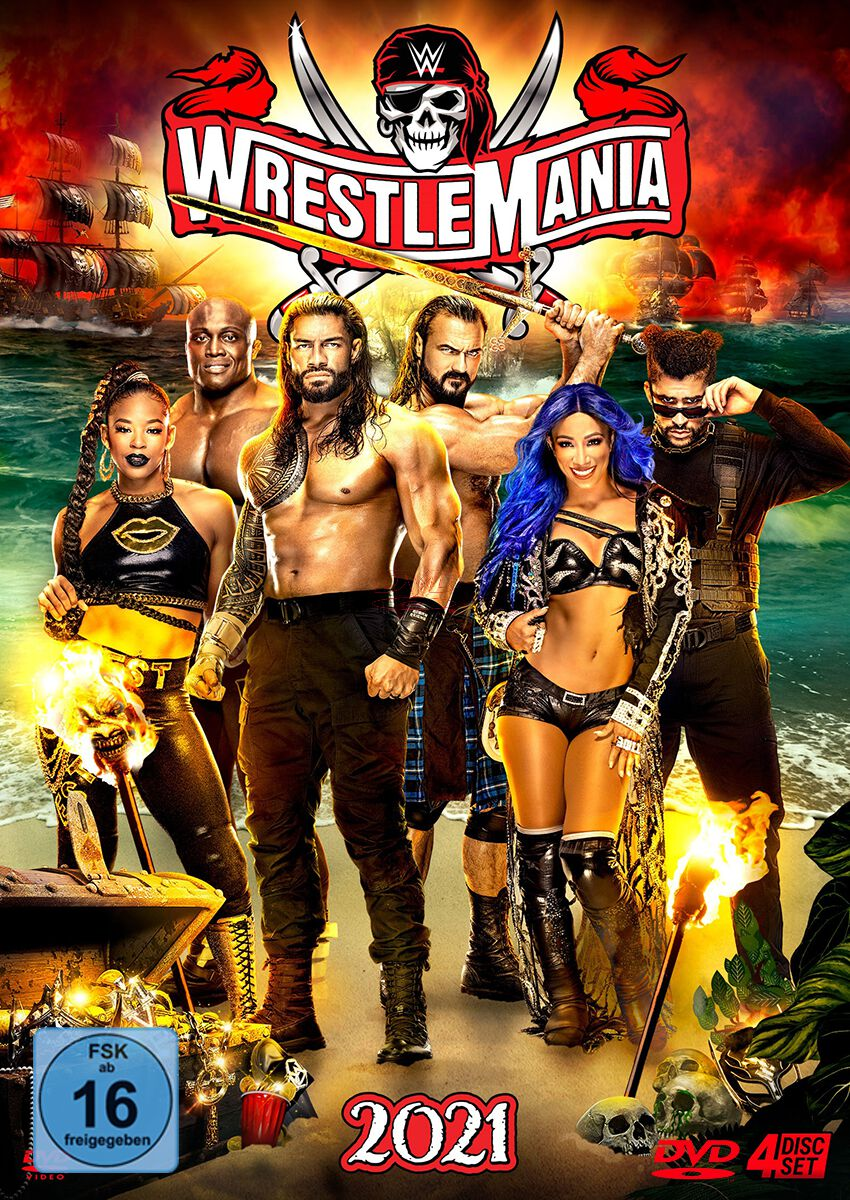 Image of WWE Wrestlemania 37 4-DVD Standard