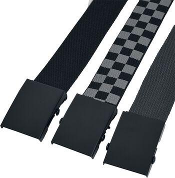 Belts Trio 3er Pack